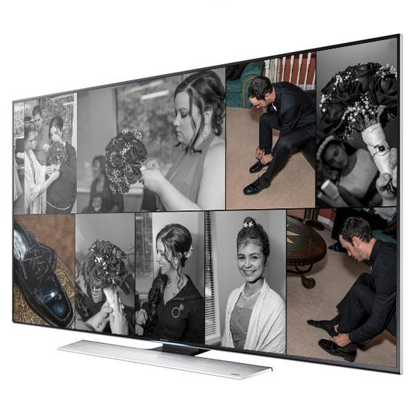 Wedding Photos - TV View Mode